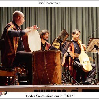 Rio Encontros 2017 - Apresentação Codex Sanctissima
